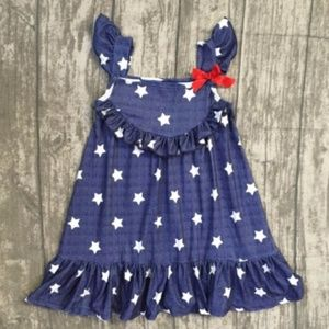 Other - Fourth of July Stars are Bright!!! Toddler Dress